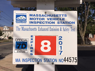 Inspection Station Lexington, MA